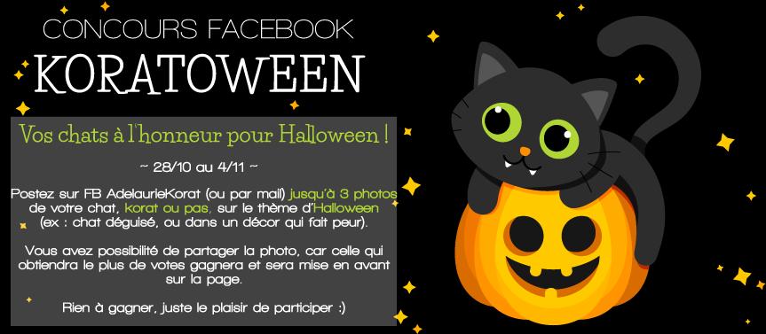 concours halloween facebook avec adelaurie korat